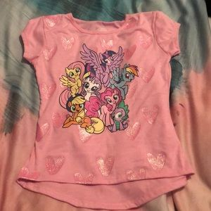 My Litttle Pony graphic tshirt size 6X NEW